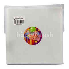 Happy Party Heat Resistant Plastic 1/4kg 15x30cm