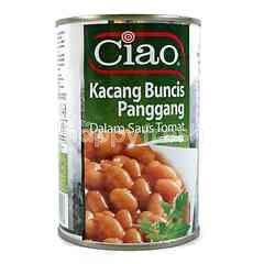 Ciao Kacang Panggang dalam Saus Tomat