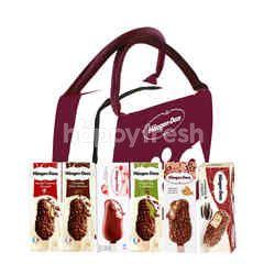 Haagen-Dazs Ice Cream Stickbar Package ( Choose 3pcs of All Variant)
