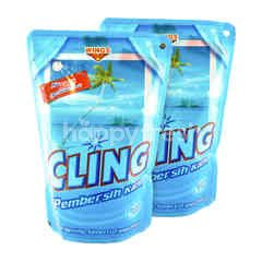 Cling Pembersih Kaca Ocean Fresh 425ml