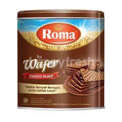 Roma Wafer Berlapis Cokelat