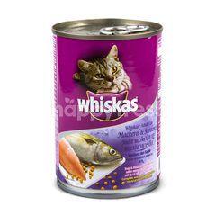 Whiskas Mackerel & Sardines Flavour For Adult