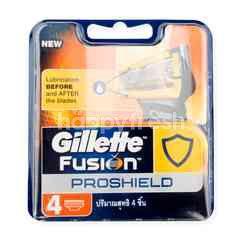 Gillette Fusion Proshield Blades (4 Pieces)