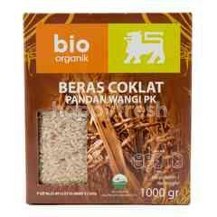 Bio Organik Beras Cokelat Pandan Wangi Organik
