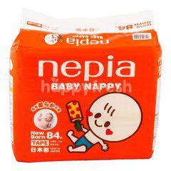 Nepia Popok Bayi Baru Lahir Berperekat dengan Berat 4kg