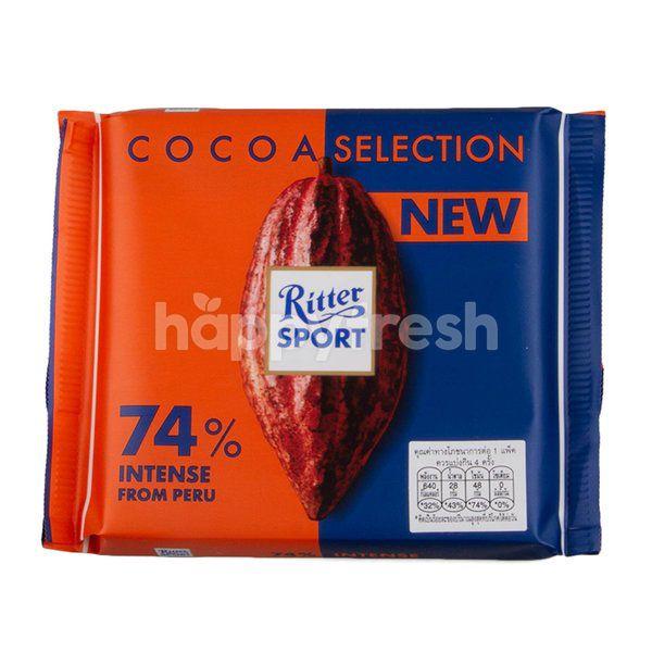 Ritter Sport Cocoa Selection 74 Happyfresh