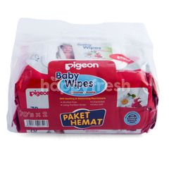 Pigeon Baby Wipes Twin-pack