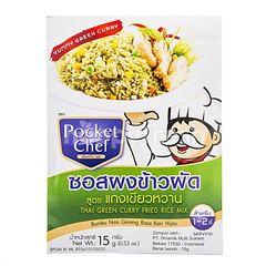 Pocket Chef Bumbu Nasi Goreng Rasa Kari Hijau