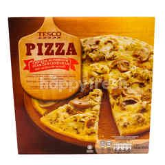Tesco Pizza Chicken Mushroom