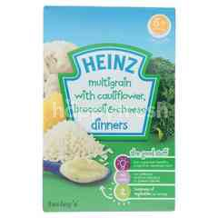 Heinz Multigrain With Cauliflower Broccoli & Cheese (4+ Months)