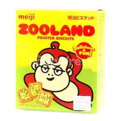 Meiji Zooland Printed Biscuits