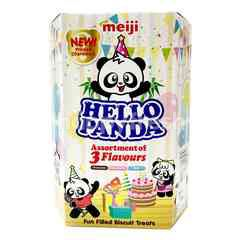 Meiji Hello Panda Assortment Of 3 Flavours
