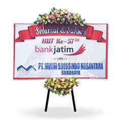 Citra Florist Flowerboard Congratulation Banner 2 Meter Crown and Bottom Part