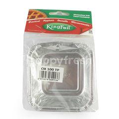 Kingfoil Alumunium Foil Food Container OX 100 TP