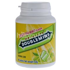 Wrigley's Doublemint Chewing Gum Green Tea Mint Flavour