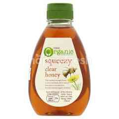 Tesco Organic Squeezy Clear Honey