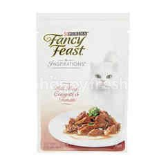 Purina Fancy Feast Inspirations With Beef, Courgette & Tomato