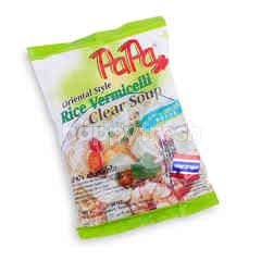 Papa Rice Vermicelli Clear Soup