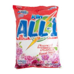SoKlin All in 1 Deterjen Bubuk Aroma Floral Sense