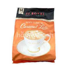 JJ Royal Tubruk Powdered Coffee Caramel Latte