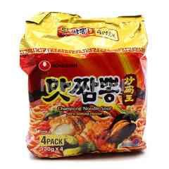Nongshim Champong Noodle Soup Instant (4 Pieces)