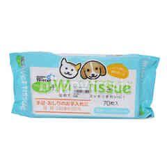 Tom Cat Wet Tissue (70 Pieces)