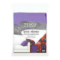 Tesco Mixed Berries Scent Garbage Bags (S) (50 Pieces)