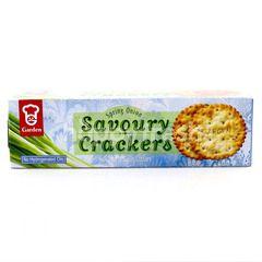 Garden Of Eden Spring Onion Savoury Crackers