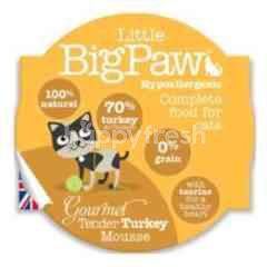 Little Big Paw (Cat) Pot Gourmet Tender Turkey (Hypo) 85g
