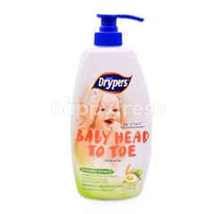 Drypers Baby Head To Toe Avocado 750ml
