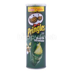 Pringles Salt & Seaweed Potato Chips