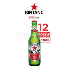 Bintang Pilsener Bottled Beer 12 Packs