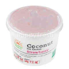 Sunshine Market Coconut Ice cream Strawberry flavour
