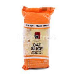 ALL NATURAL BAKERY Yoghurt, Peach & Mango Oat Slice Cookies