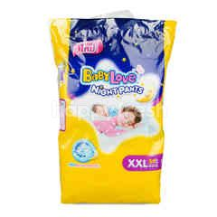 Baby Love Night Pants XXL 34 Pcs
