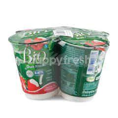 Dutchie Bio Duo Probiotic Yogurt With Strawberry