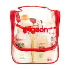 Pigeon Back Pack Toiletris (6 products) Toothpaste