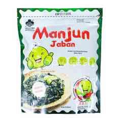 Manjun Jaban Seaweed with Spicy Flavor