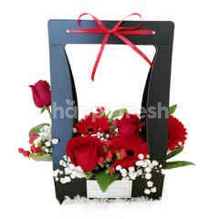 Garden Scents Imported Rose 3 Stem & Gerbera