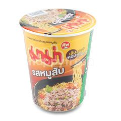 Mama Cup Minced Pork Flavour
