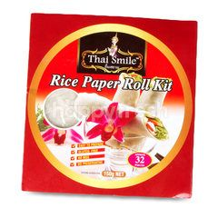 Thai Smile Rice Paper Roll Kit
