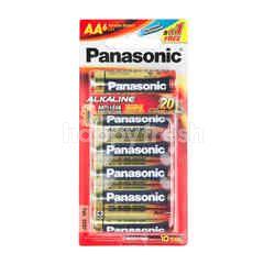 Panasonic AA Alkaline Battery 1.5 v