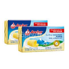 Anchor New Zealand Pure Unsalted Butter Twinpack 227g