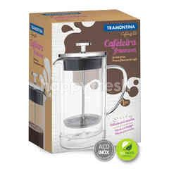 Tramontina Double-Walled Glass And Stainless Steel French Press Length 8 cm 420 ml
