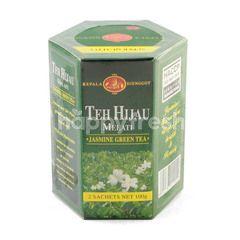 Kepala Djenggot Jasmine Green Tea Flowers Tea Leaves Shoot