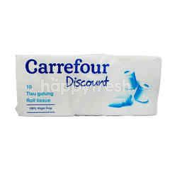 Carrefour Discount Toilet Tissue Rolls (10 rolls)