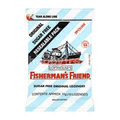 FISHERMAN'S FRIEND Sugar Free Original Lozenges