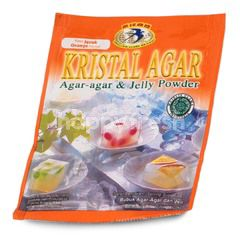 Swallow Globe Brand Kristal Agar Orange