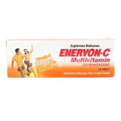 Enervon-C Multivitamin Effervescent Food Supplement