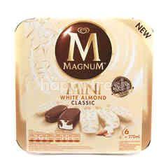 Wall's Magnum Mini Es Krim Kacang Almond Putih Klasik